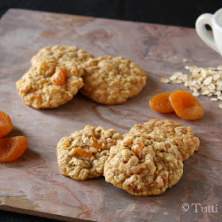 Oatmeal Apricot Cookies.