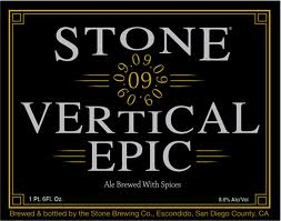 Logo of Stone 09.09.09 Vertical Epic Ale