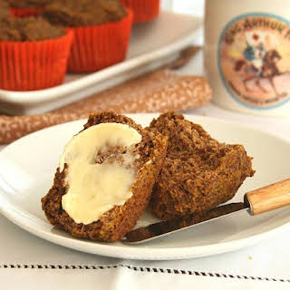 "Pumpkin ""Bran"" Muffins – Low Carb and Gluten-Free."