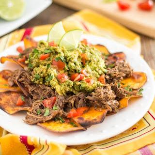 Mexican Lamb Barbacoa – Nacho Style.
