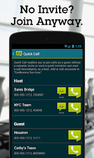 MobileDay Conference Call - screenshot thumbnail