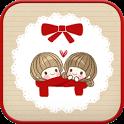 dasom(love) go sms theme icon