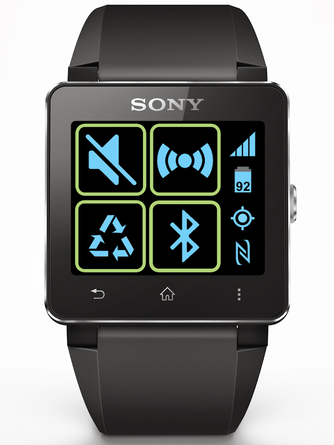 Toggles for SmartWatch - screenshot