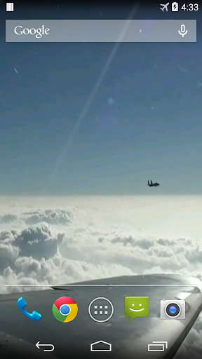 Aircraft Video Live Wallpaper