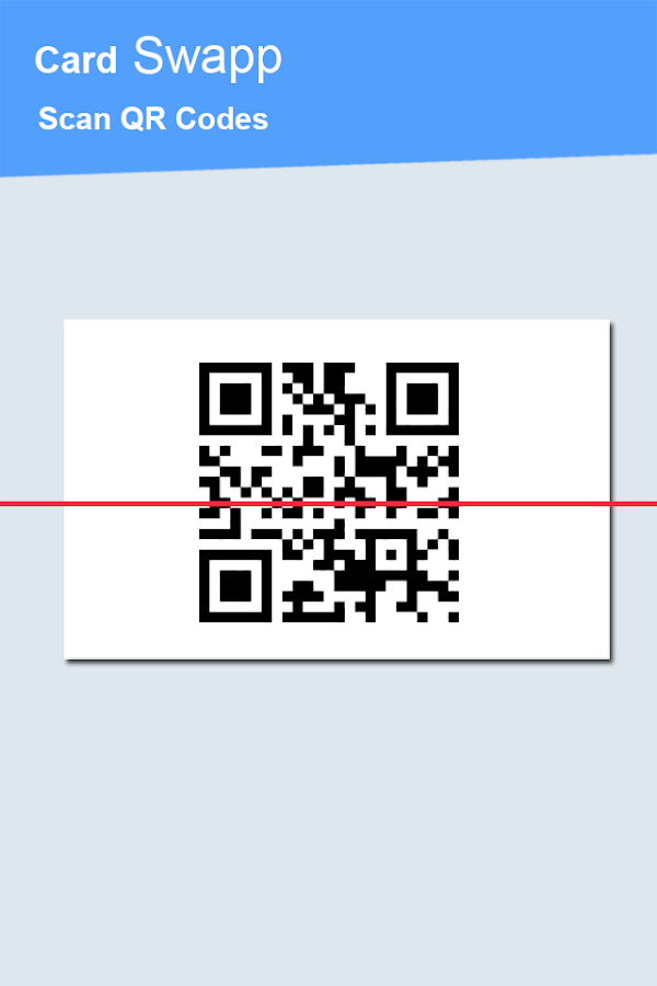 CardSwapp QR Scanner Cardswap- screenshot