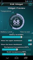 Screenshot of Battery Circle Widget