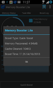 Memory Booster (Full Version) - screenshot thumbnail