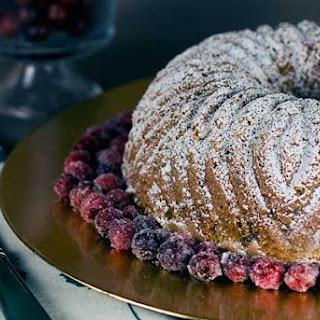 Gluten Free Almond Cranberry Bundt Cake
