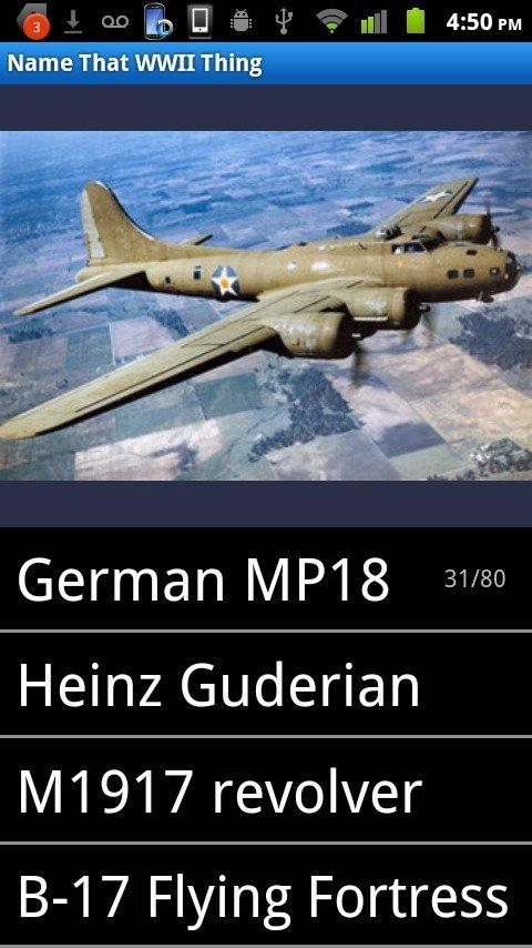 World War 2 Quiz (WWII) - screenshot