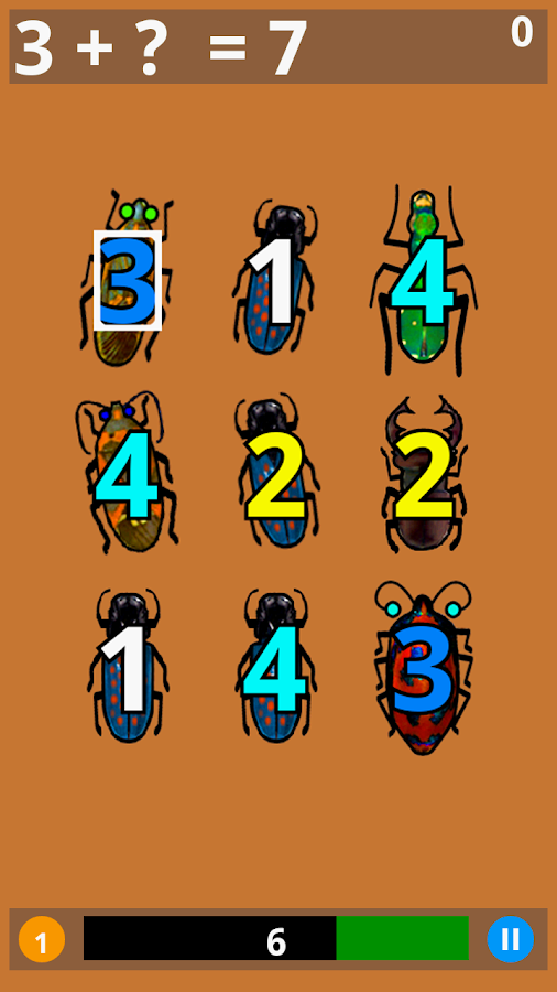 Math Bugaboo- screenshot