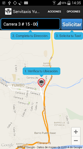 【免費交通運輸App】Servitaxis Yumbo-APP點子