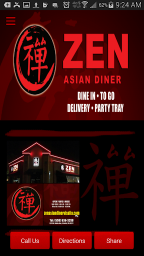 Zen Asian Diner ChineseCuisine
