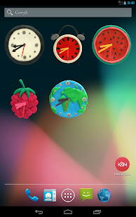 KM Clock Widgets|玩個人化App免費|玩APPs
