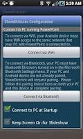 Screenshot of ShowDirector PowerPoint Remote