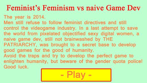 Feminism's Feminist Dev Game
