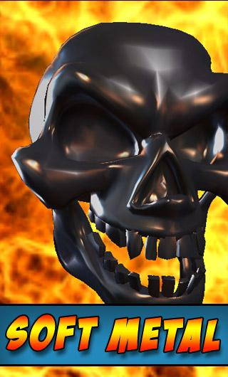Skull Live Wallpaper 3D- screenshot