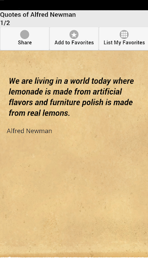 Quotes of Alfred Newman