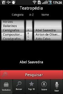 Teatropédia- screenshot thumbnail