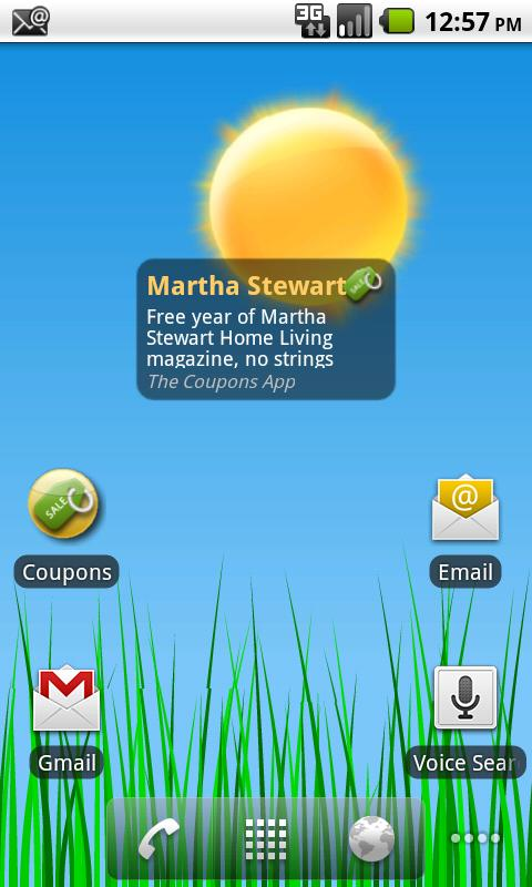 The Coupons App - screenshot