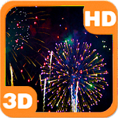 Sky Flower Fireworks HD