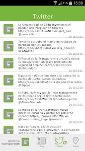 Gobierno Transparente screenshot 2