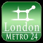 London tube (Metro 24)