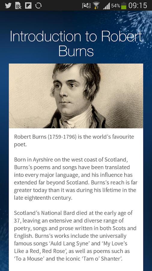 The Works of Robert Burns- screenshot