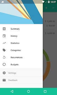 Monas - Expense Manager- screenshot thumbnail