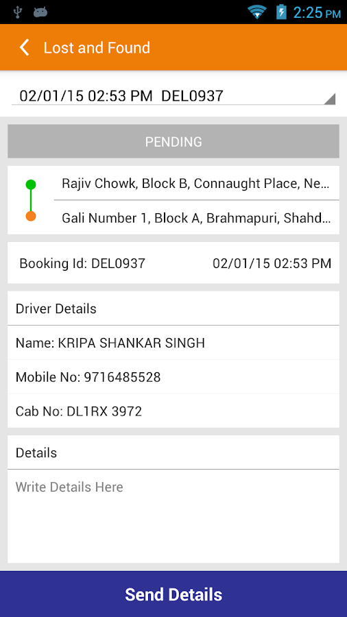 Mega Cabs Bengaluru- screenshot