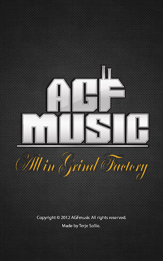 AGFMusic.All in Grinde Factory