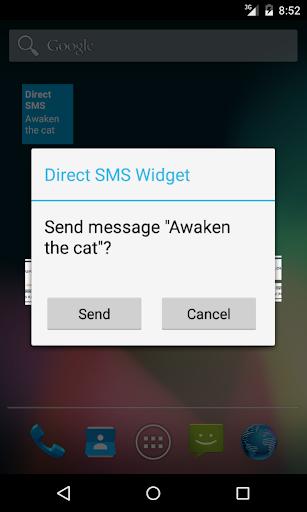 Direct SMS Widget