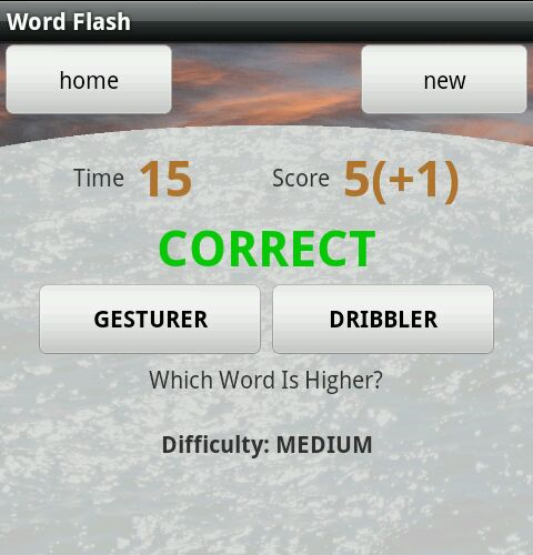 Word Flash