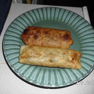 Ground Beef Chimichangas Recipe