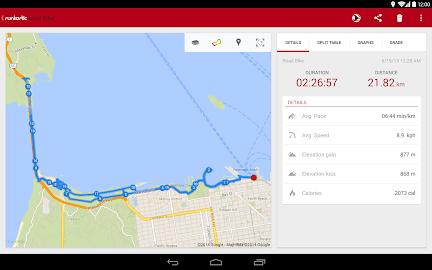 Runtastic Road Bike Tracker Screenshot 10