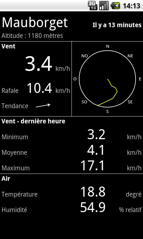 Wind Mobile - screenshot