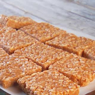 No-Bake Peanut Butter Rice Krispies Cookies.