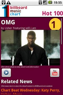 BillBoard Music Chart - screenshot thumbnail