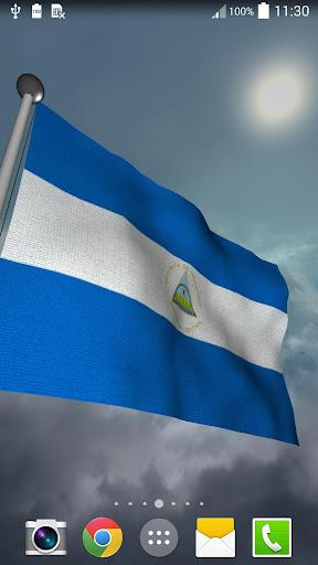 Nicaragua Flag - LWP