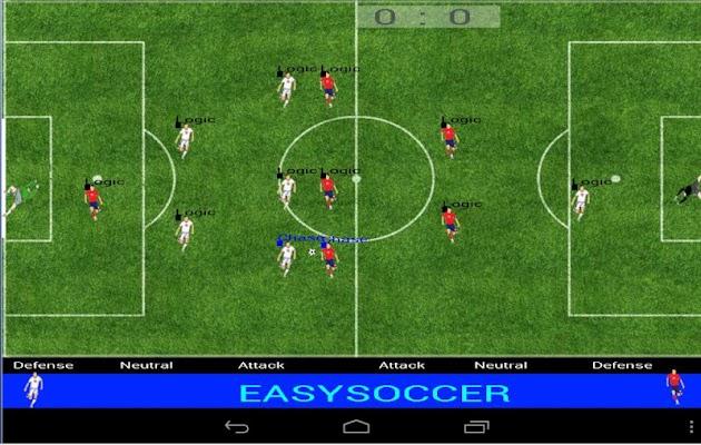 Easysoccer - screenshot
