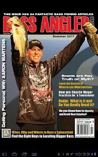 Bass Angler Magazine - screenshot thumbnail