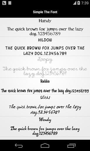 Pencil Font for Flipfont Free