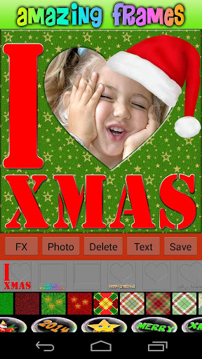 Love Christmas Frames