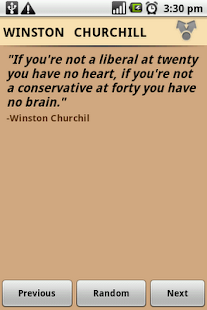 Winston Churchill Quotes- screenshot thumbnail