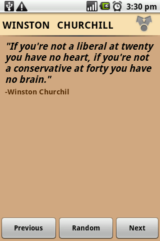 Winston Churchill Quotes - screenshot
