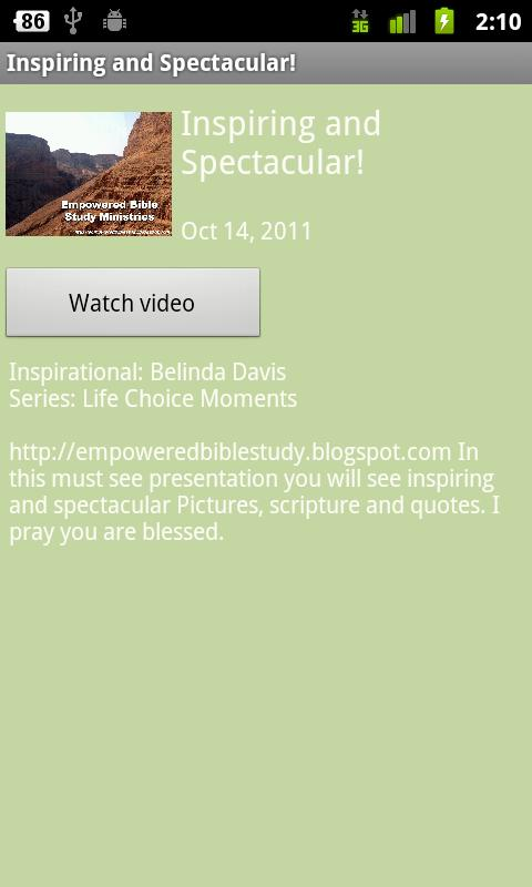 Empowered Bible Study - screenshot