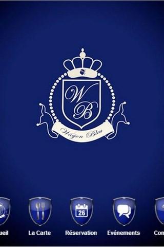 Wagon Bleu
