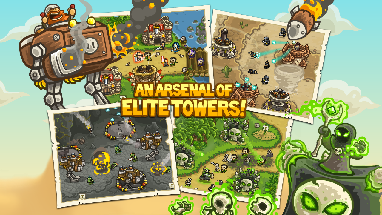 Kingdom Rush Frontiers screenshot #13
