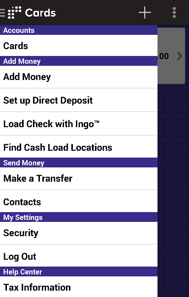 RushCard - screenshot