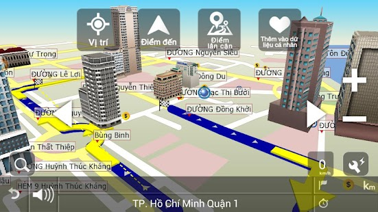 VIETMAP X10 Q1.2014 - screenshot thumbnail