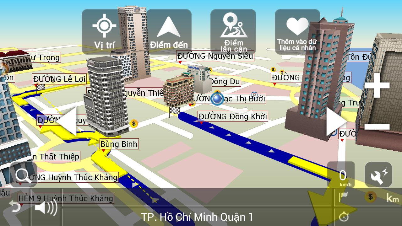 VIETMAP X10 Q1.2014 - screenshot